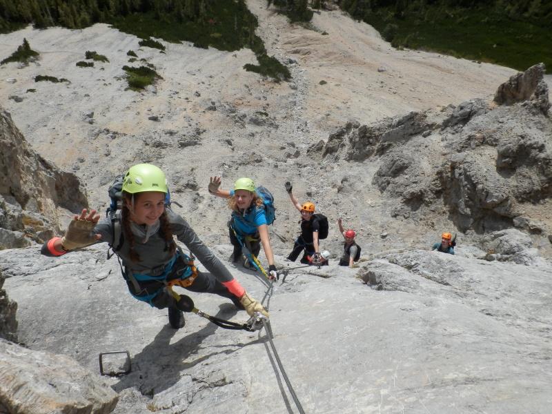 Ferraty v Alpách