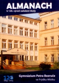Obálka almanach ke 120 letům gymnázia