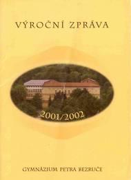 Obálka ročenky 2001/2002