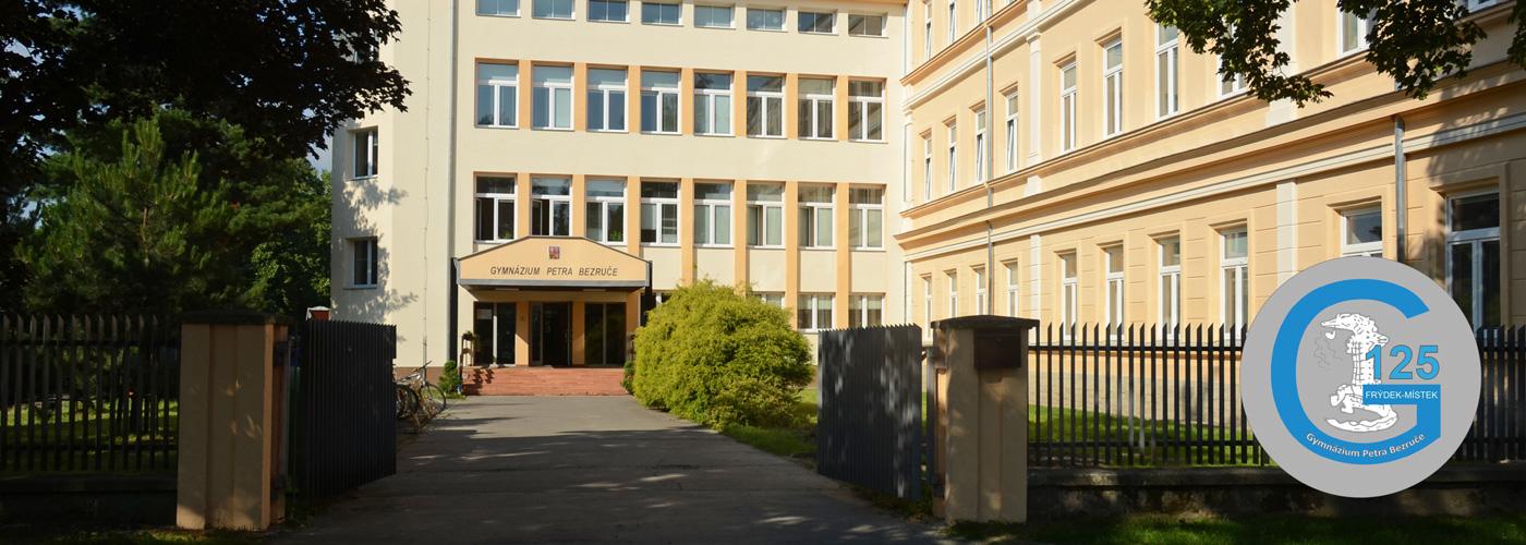 Budova Gymnázia Petra Bezruče.